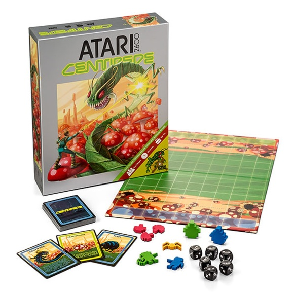 IDW Games Other - Centipede Board Game Exclusive Atari 2600 Edition